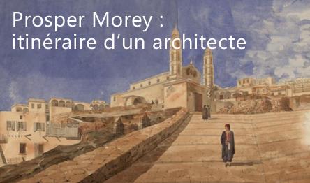 Dessins de l'architecte Prosper Morey